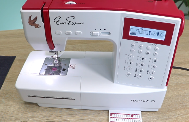 sewing machine with variable speed