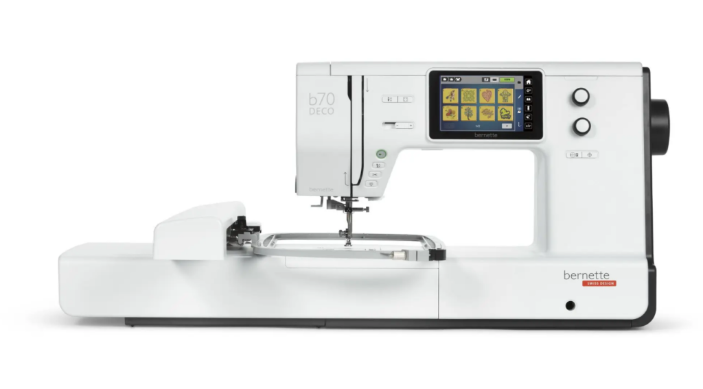 embroidery machine with usb port