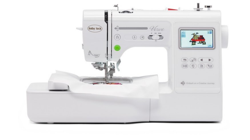 embroidery machine connects to computer