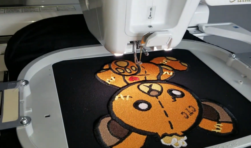 high quality embroidery machines for custom designs
