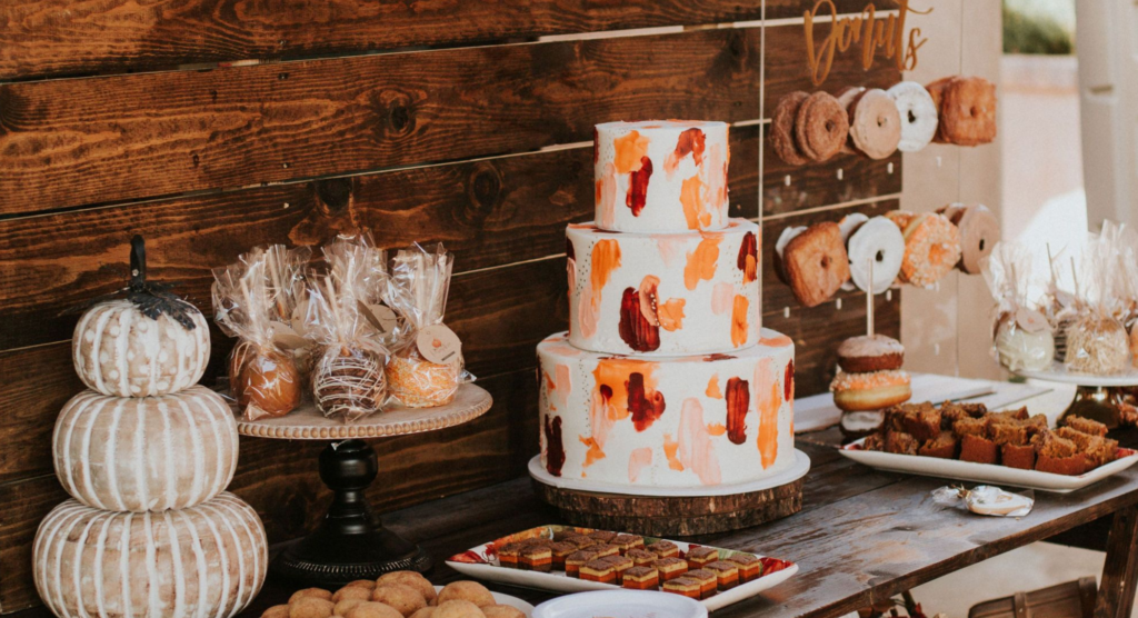 fall party food displays