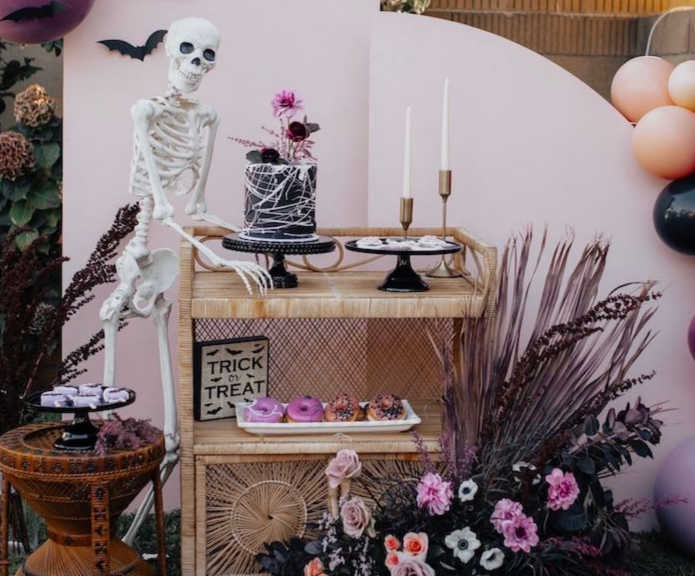halloween party displays for food
