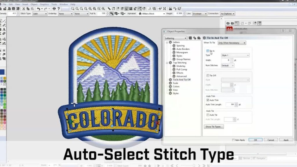 custom embroidery machine with software