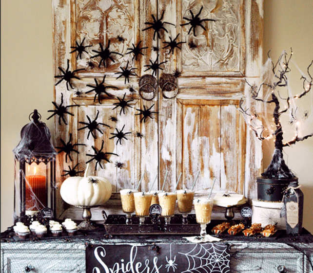 Halloween dessert tables for adults