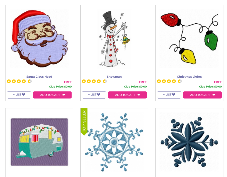free christmas machine embroidery designs pes