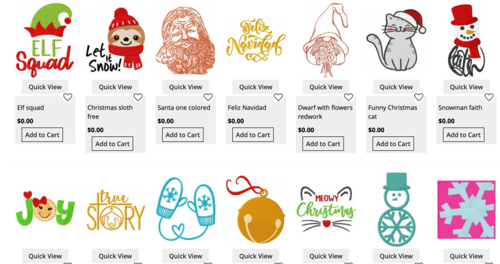 free christmas embroidery machine designs for brother