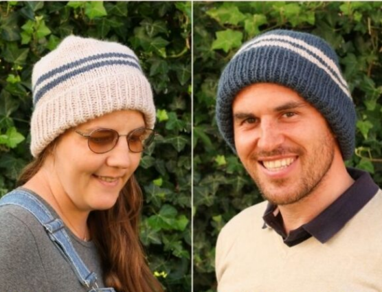 unisex knitted hat patterns free